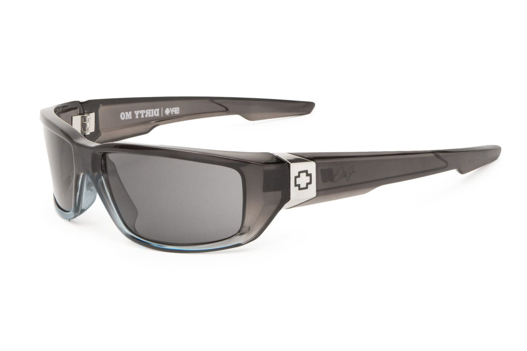 Spy - Dirty Mo Grey Crystal Fade Sunglasses, Grey Lenses