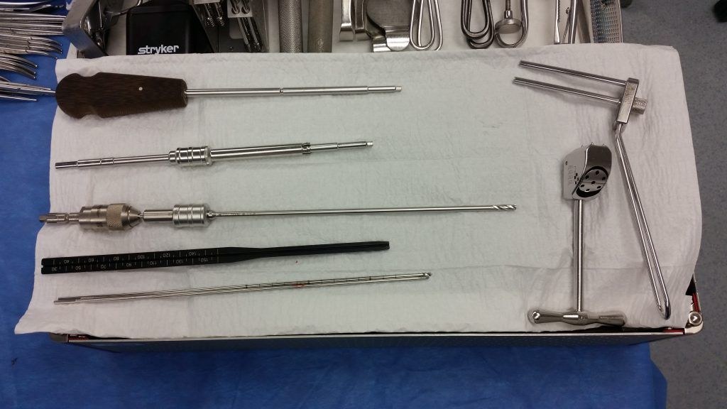 Hip Percutaneous Pinning w/ Synthes 6.5 & 7.3 Cannulated