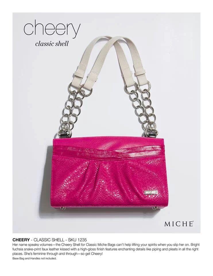 Miche purse. Check it out www.kathythompson.miche.com
