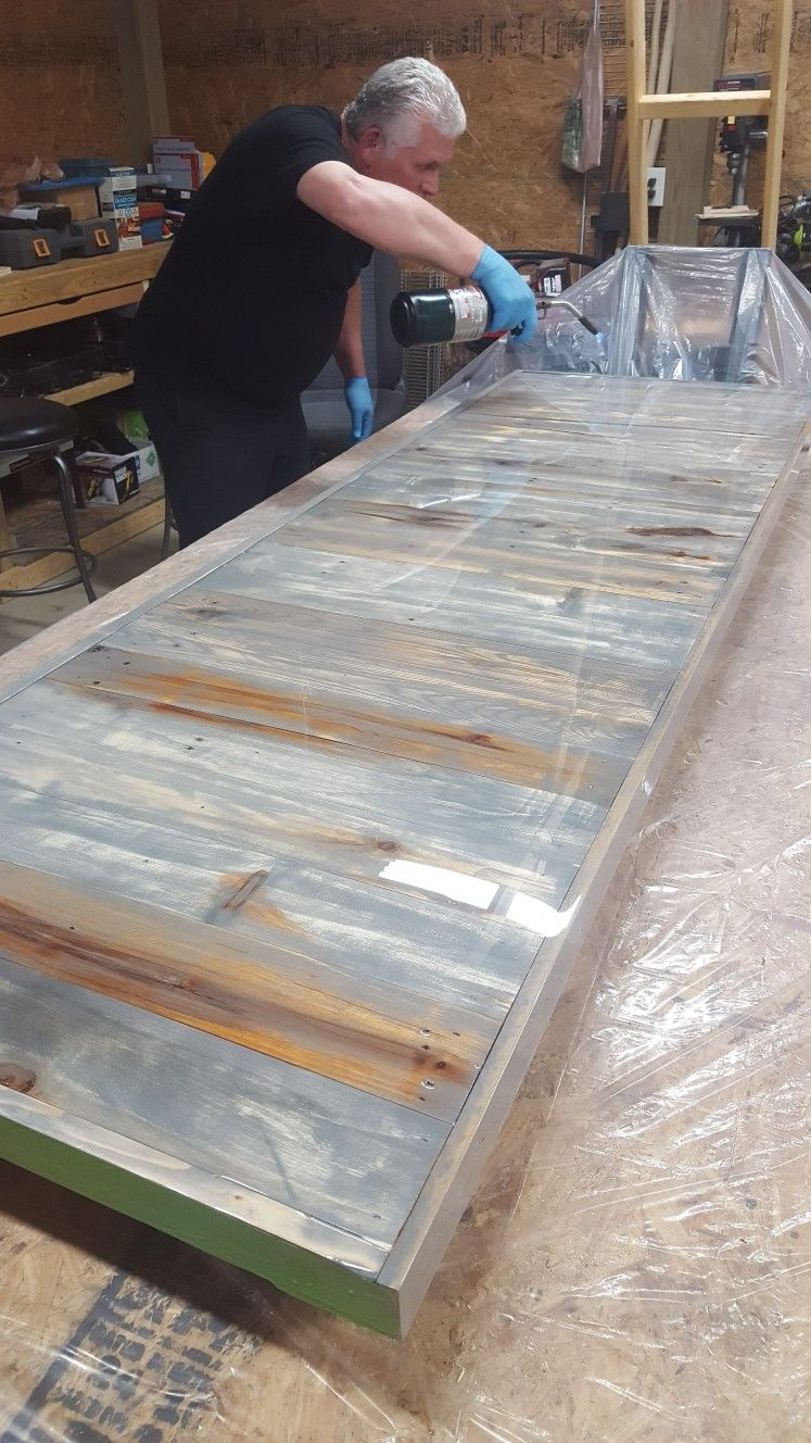 Pallet Wood Counter Top Butcher Block Countertops Wood