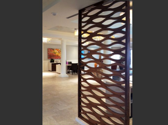 Laser Cut Wall Partitions