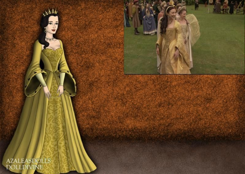 Anne Boleyn- Yellow Celebration Gown by EriksAngelOfMusic22