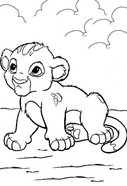 Animals Coloring Pages Your Toddlers Will Love Here Is Our Collection Of 25 Free Coloring Pa Lion Coloring Pages Cartoon Coloring Pages Disney Coloring Pages