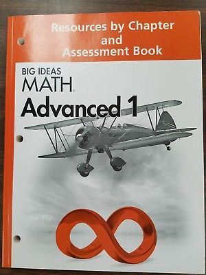 Big Ideas Math Advanced 1 Resources And Assessment Book Big Ideas Math Math Teacher Resources