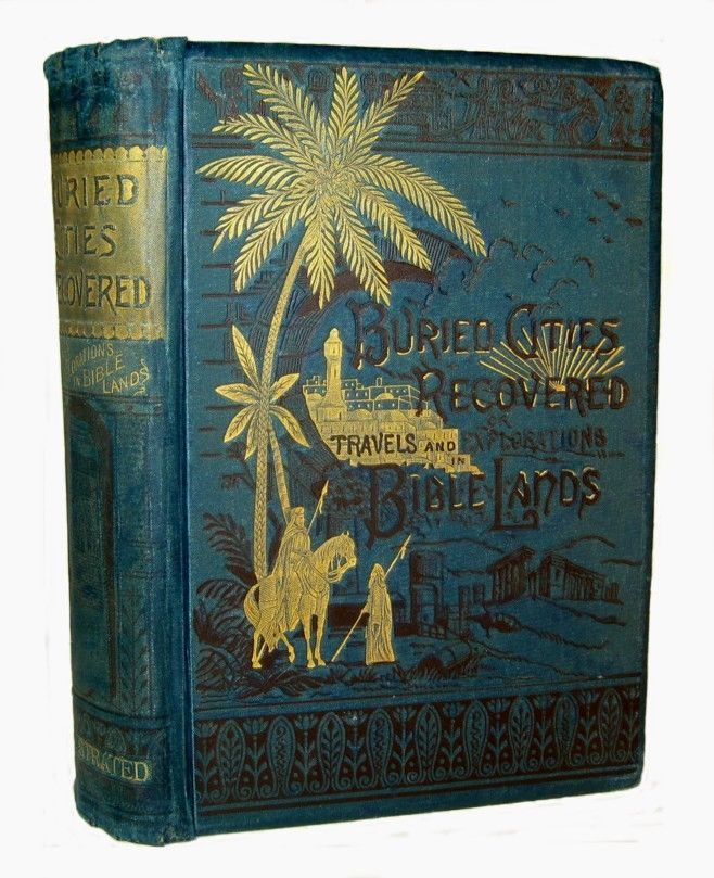 1883 Archaeology HOLY LAND Ancient Ruins EGYPT PALESTINE