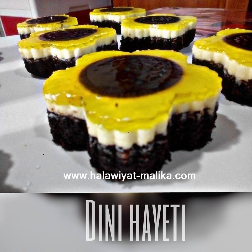 حلويات مليكة لعشاق الحلويات حلى دوار الشمس ولا أروع Desserts Food Brownie