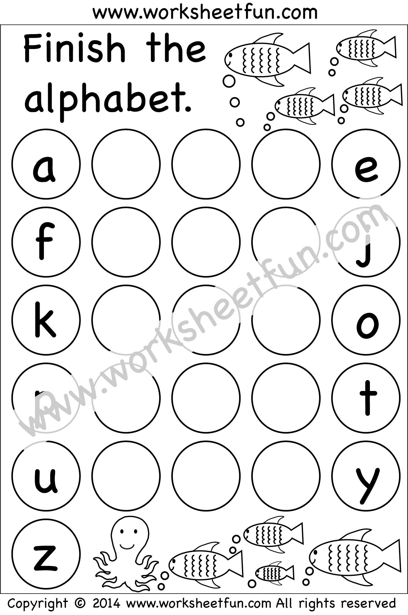 Großartig Frei Bedruckbare Kursiv Mathe Arbeitsblatt Kindergarten ...