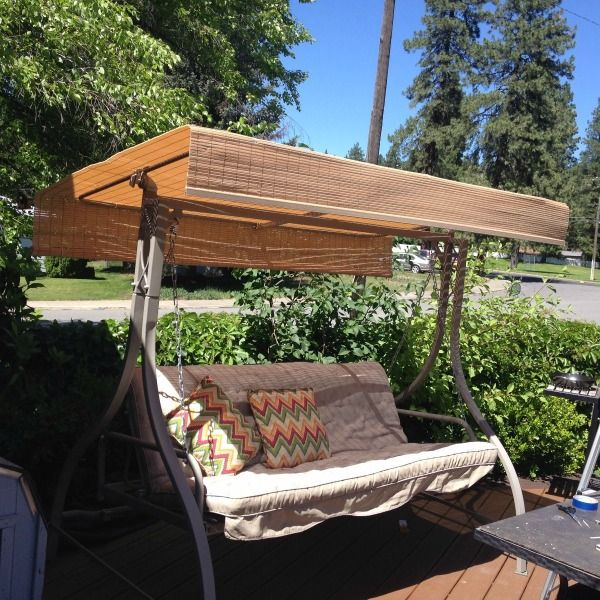 Making A Replacement Canopy For An Outdoor Swing Patio