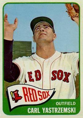 1965 Topps Carl Yastrzemski 385 Baseball Card Value Price Guide Baseball Cards Carl Yastrzemski Red Sox Baseball