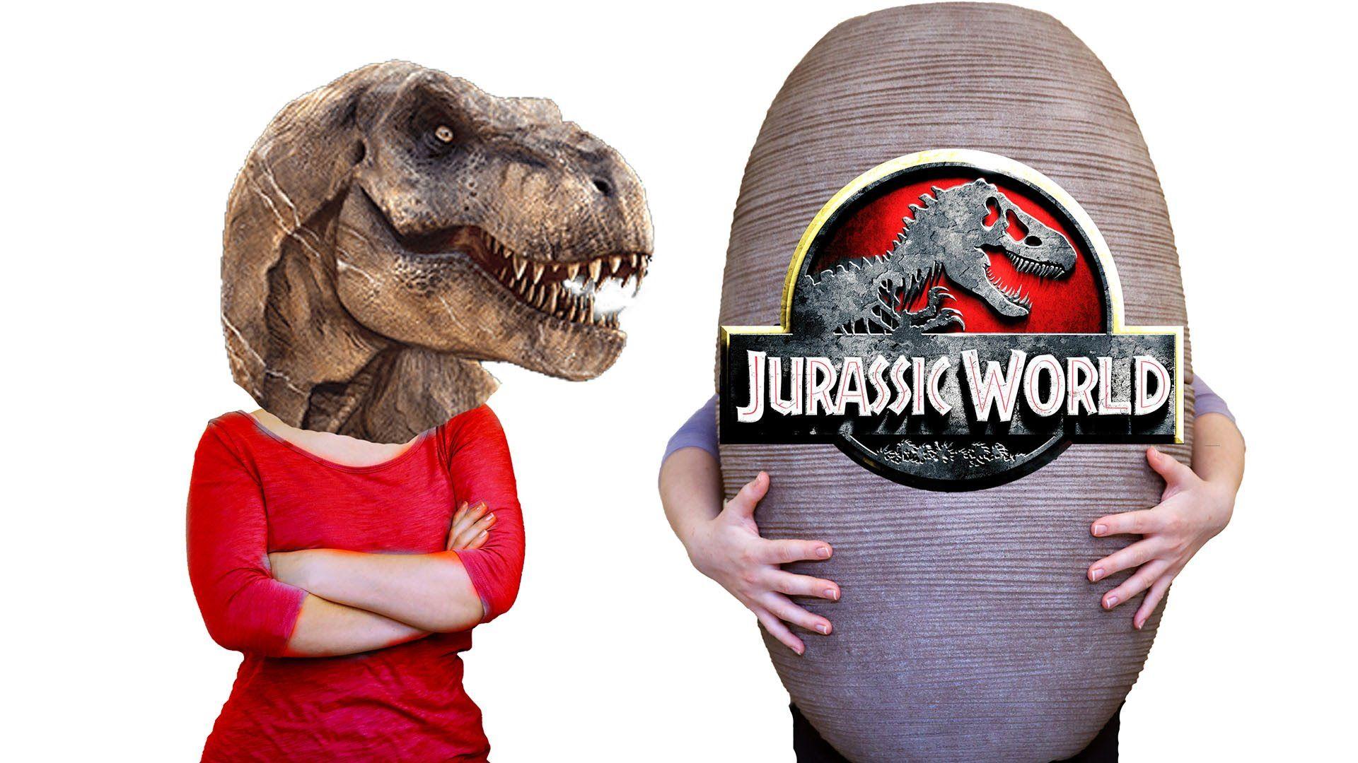 Giant Surprise Egg Jurassic World Dinosaur Toys | Jonah's