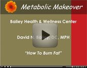 Metabolic Makeover Program – David N. Bailey, DC, MPH