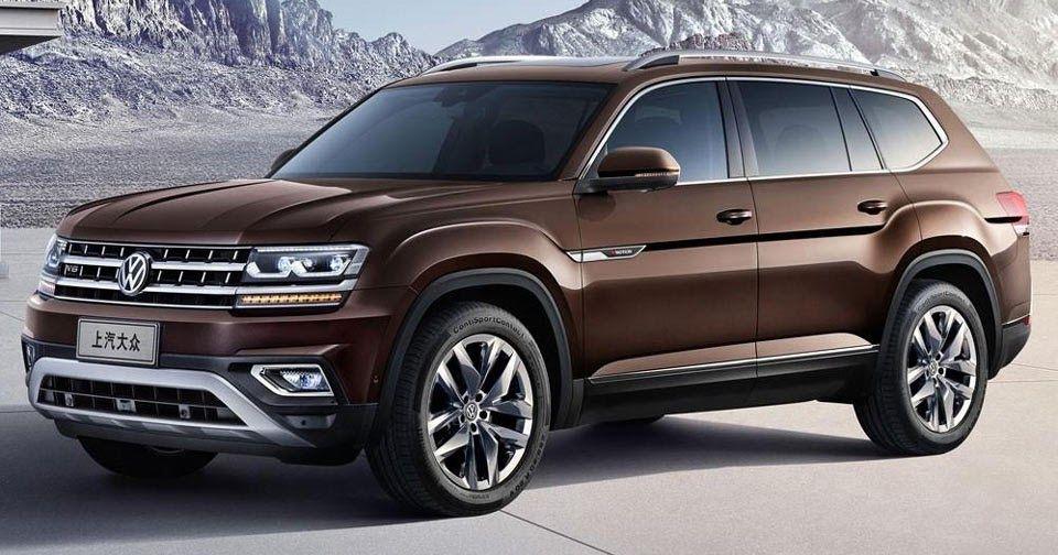 New Volkswagen Teramont Is China S Atlas Suv Carscoops Volkswagen Super Luxury Cars Chevrolet Trax