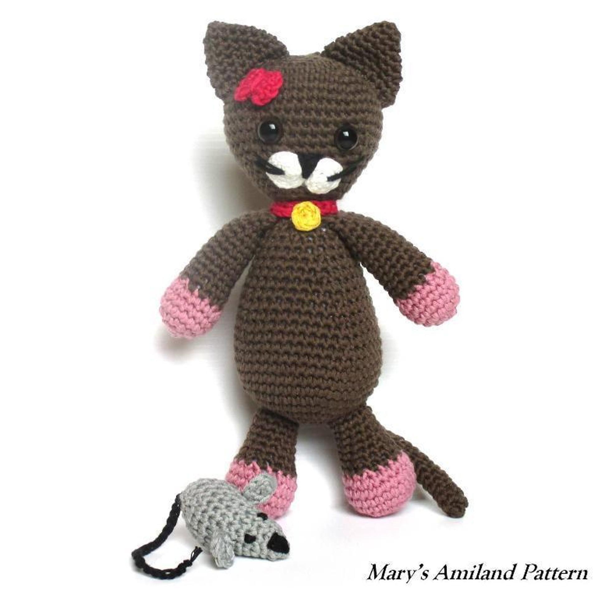 Minou Cat The Ami - Amigurumi Pattern
