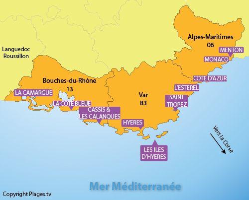 Carte Interactive De La Route Des Villages Et Cites De Caractere