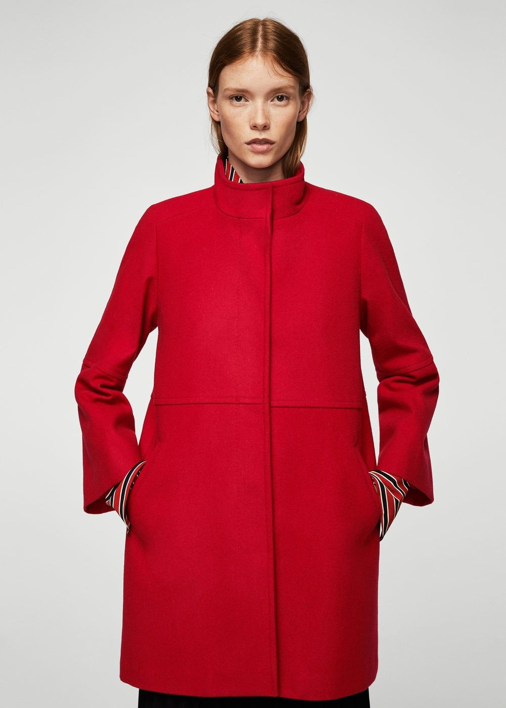 2b98ba5fda Straight-cut wool coat - Woman | | Style me baby | | Cappotti ...