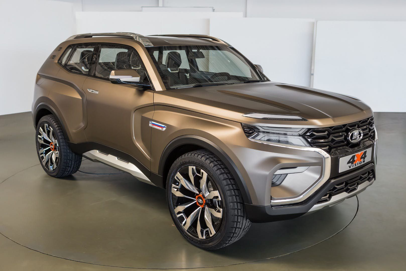 Lada 4x4 Vision Ground Clearance Looks Decent And It Should Handle Some Steep Approach Angles Super Luxury Cars Concept Cars Suv