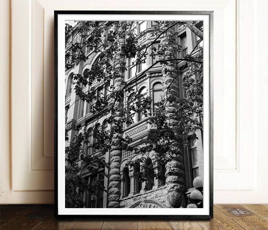 Black And White Print Of A Historic Home In Seattle Add This To Your Home Or Office Area For A Classic Art Piece That Never Entryway Art Seattle Art White Art