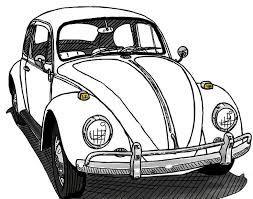 Resultado De Imagen Para Ruedas De Auto Para Colorear Beetle Car Beetle Drawing Vw Art