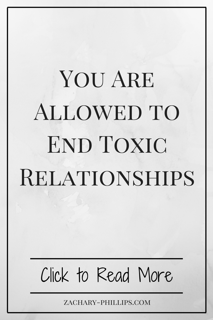 Ending a toxic relationship for good