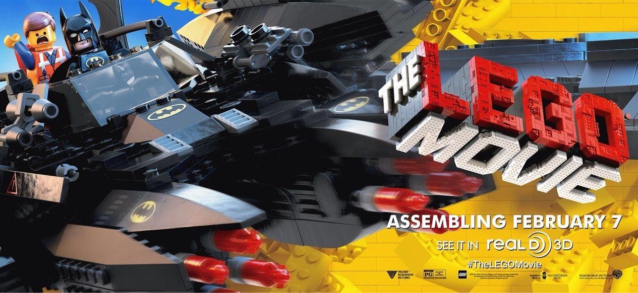Nuevo banner de la película The Lego Movie http://evpo.st/1bIyyij @Movies Torrents #lego @Warner Bros. Pictures #Batman