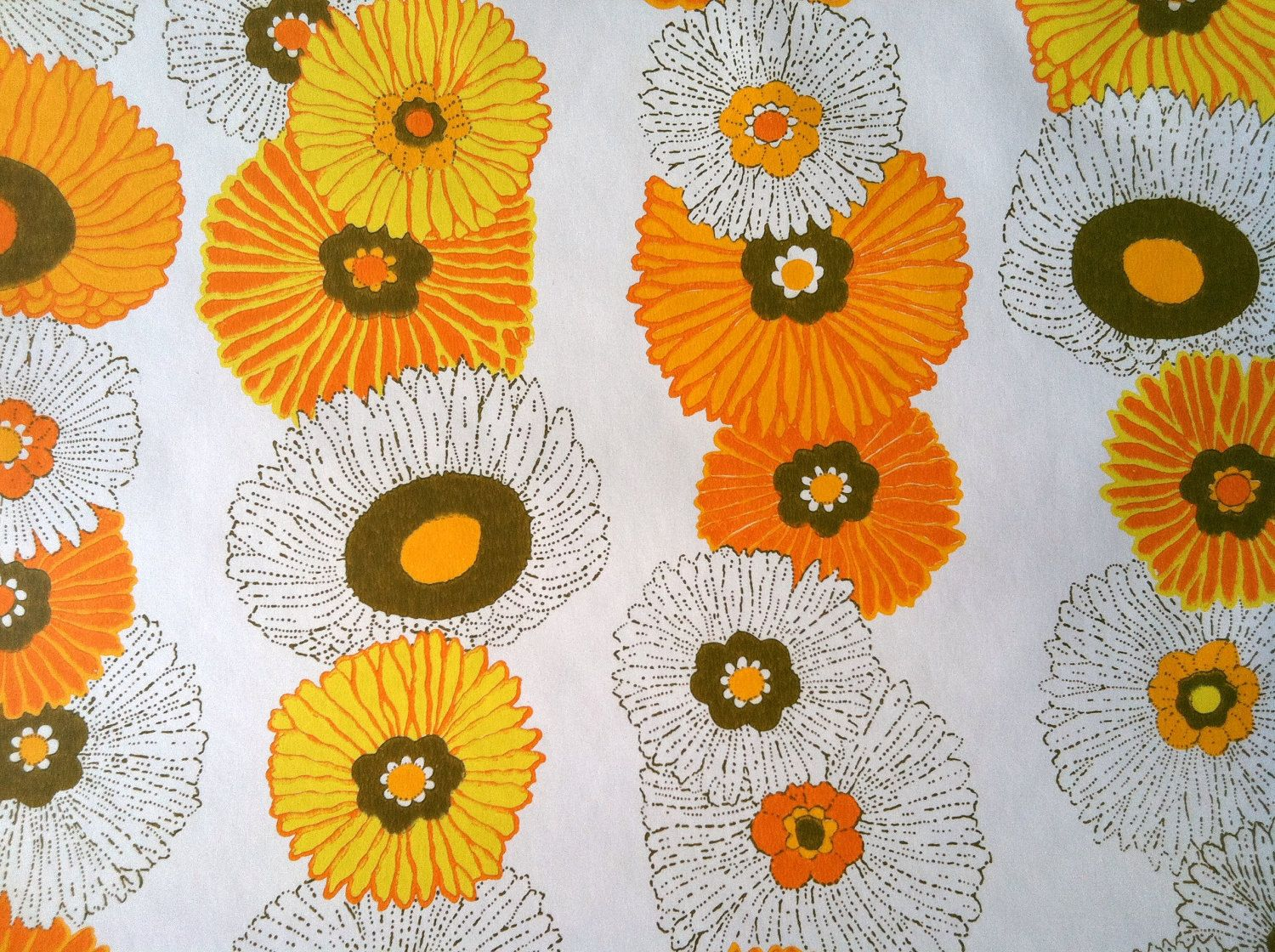 pics for 1970s wallpaper patterns