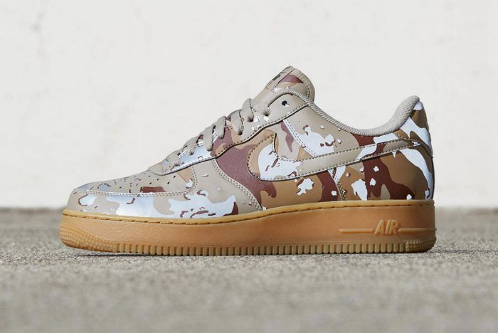 new style 8162e 33d4c Nike Air Force 1 Camo Reflective Pack