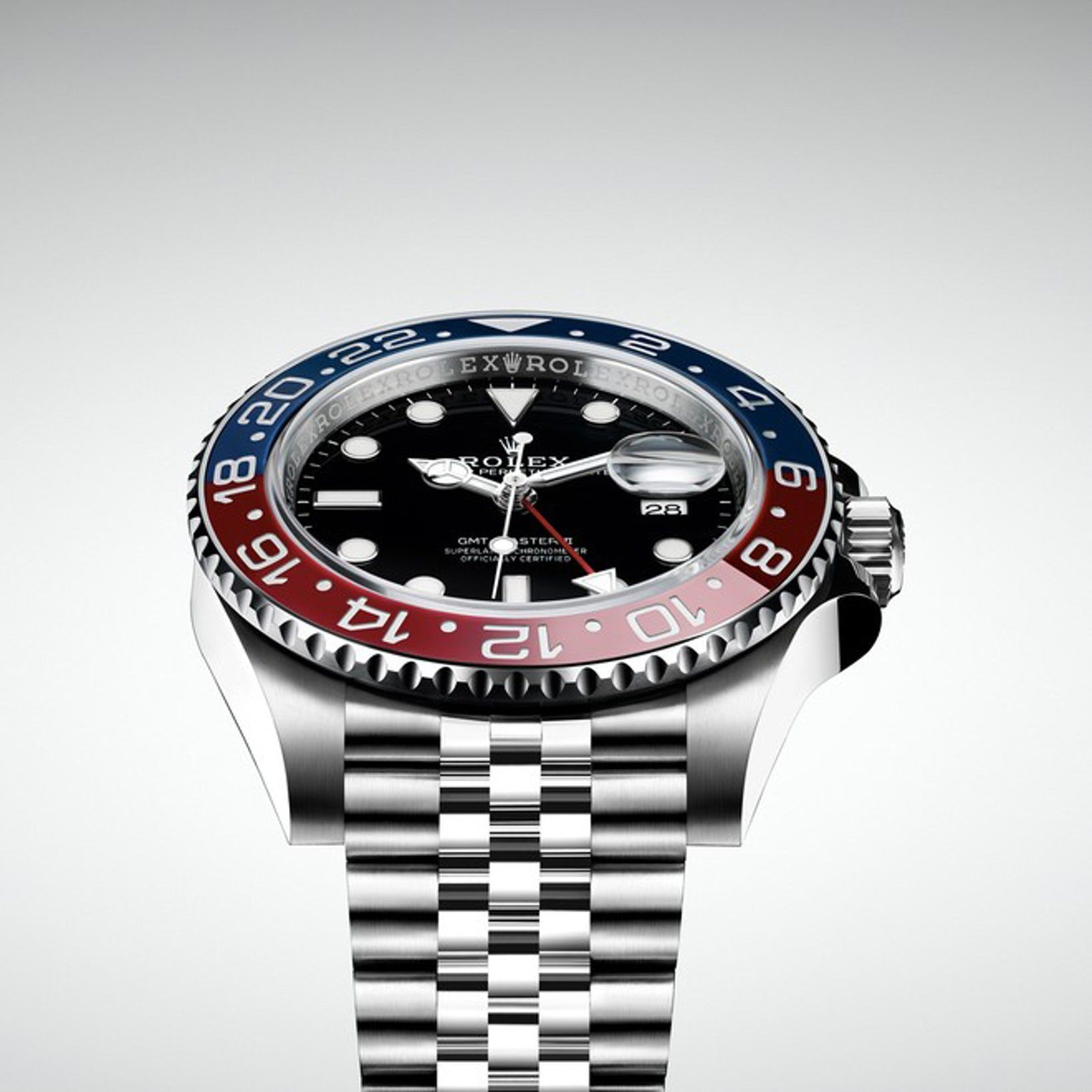 Introducing The Rolex Gmt Master Ii Pepsi In Stainless Steel Ref 126710 Blro
