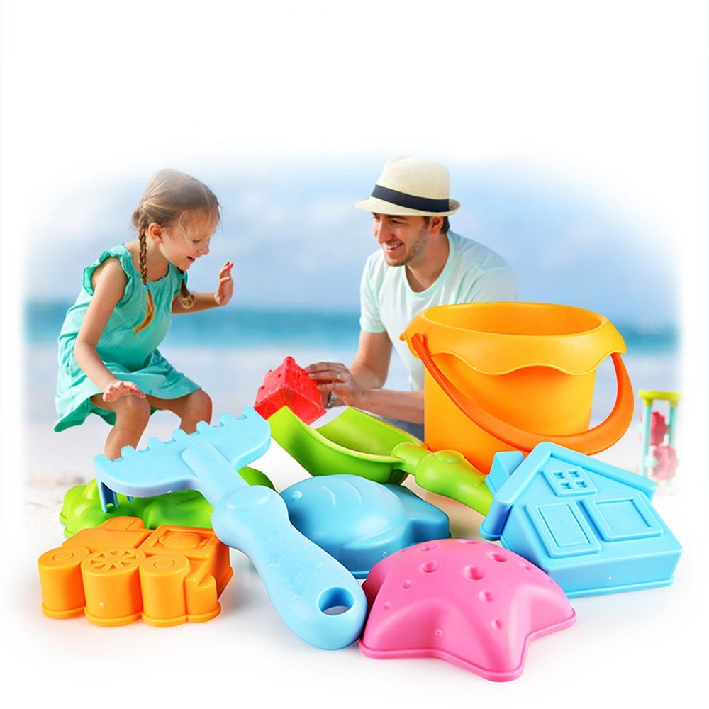 Toys for kids 8 and up  SainSmart Jr Baby Beach Toy Winter Snow Toys for Kids  PCS Water