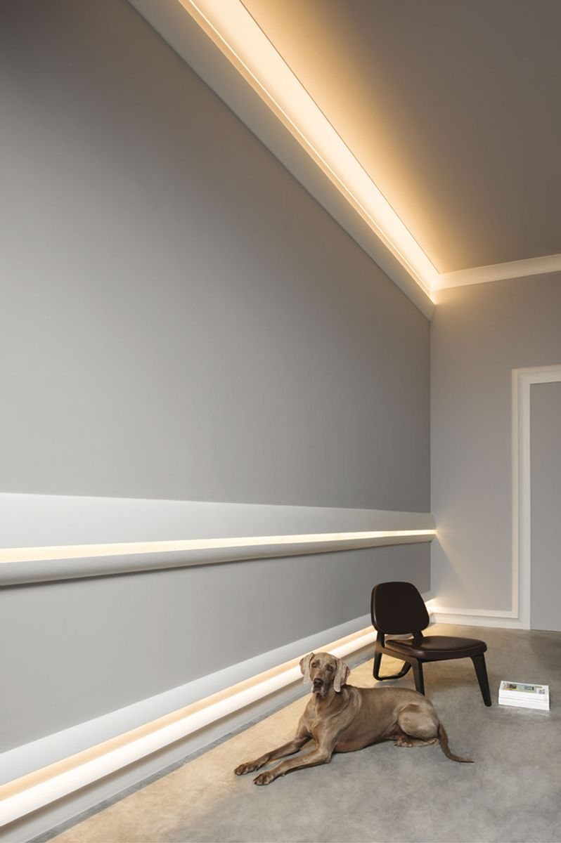 molding for indirect lighting crown