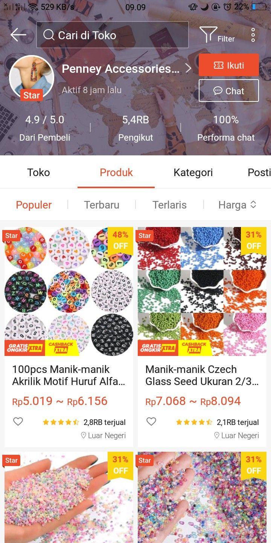 Pin Oleh Brbb Rbrr Di Rekomendasi Shopee Alat Tulis Manik Manik Desain Indentitas