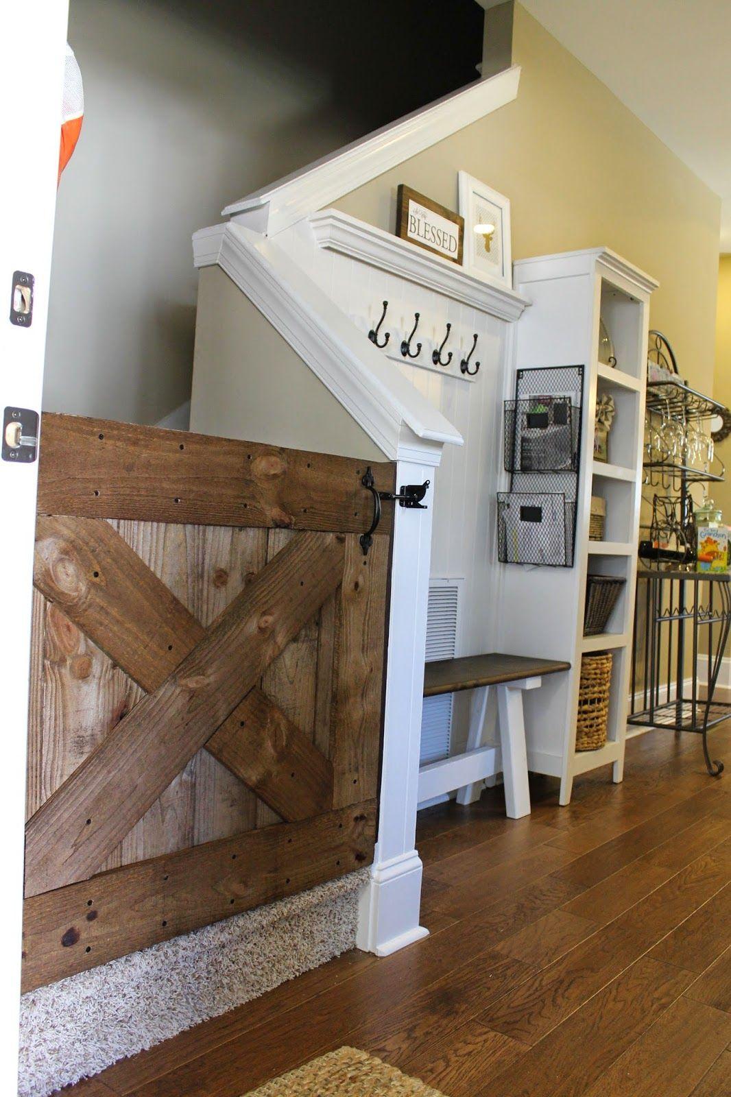 The Lee Road Housewife Diy Barn Door Baby Gate Hello Baby