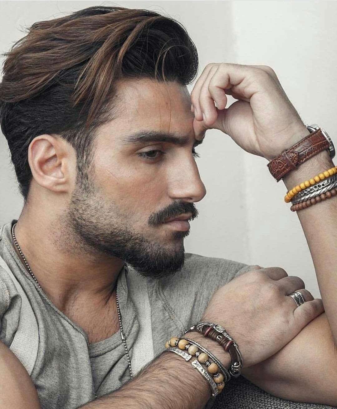 Mens haircuts with beards メンズヘア  miesten hiukset  pinterest  haircuts