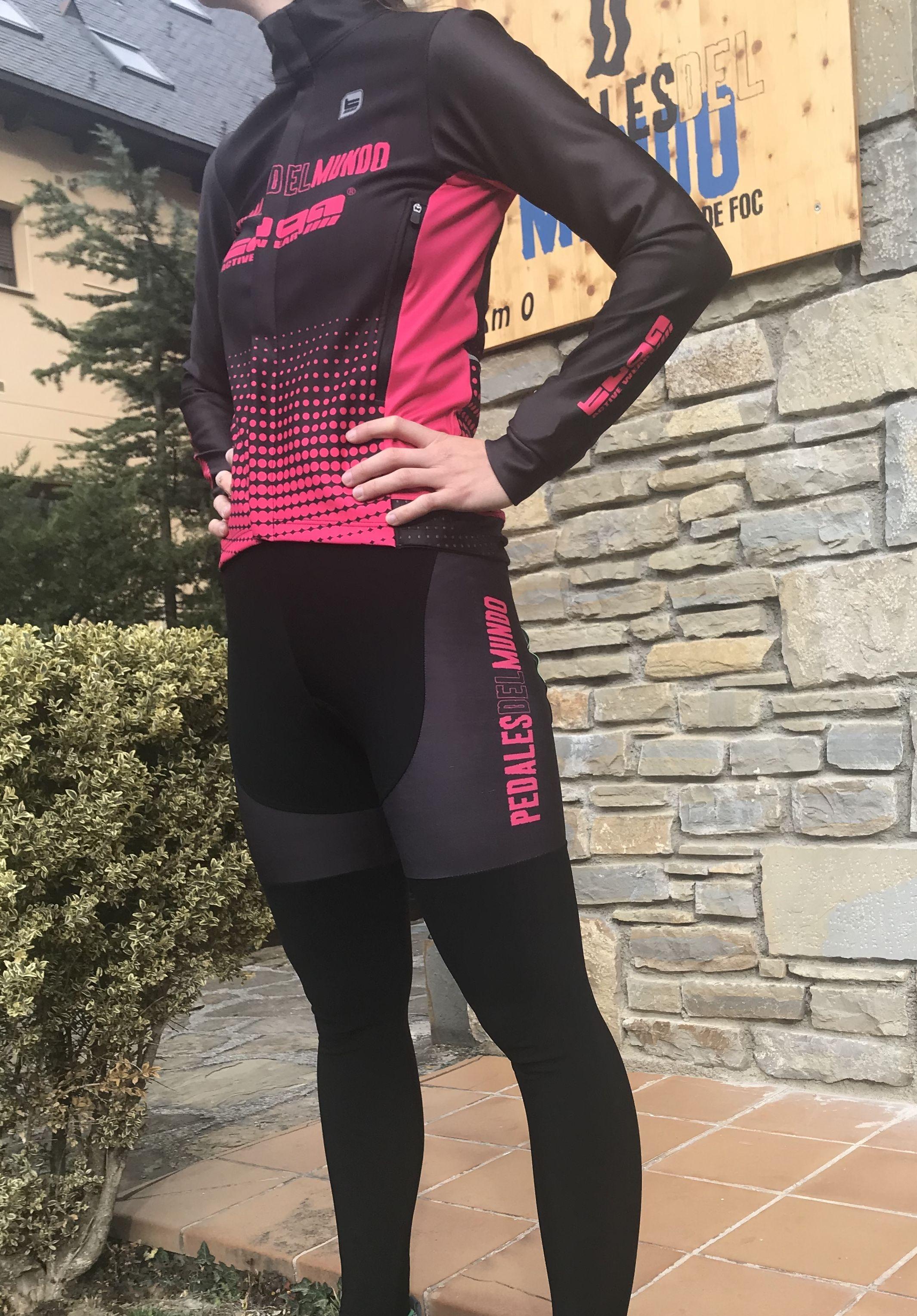 Equipación Ciclista De Invierno Ropa De Ciclismo Ciclismo Mujer Ropa
