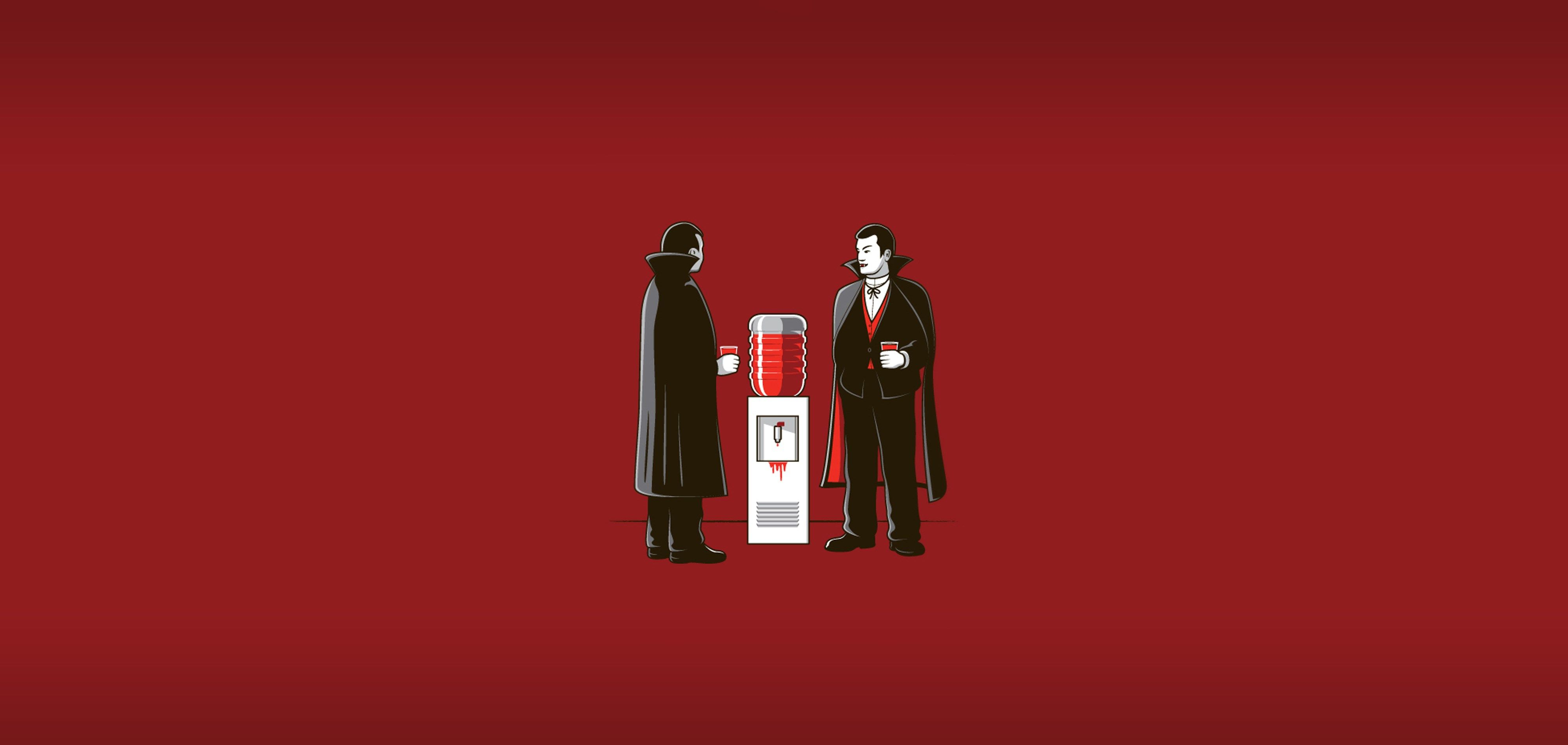 4000x1900 Free Computer Dracula Funny Wallpapers Funny Photoshop Hd Wallpaper