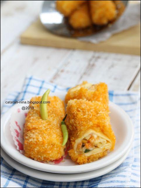 Catatan Nina Risoles Ragout Ayam Resep Masakan Indonesia Resep Masakan Memasak