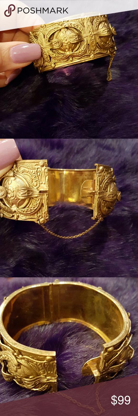 Gorgeous gold metal unique bracelet hp unique bracelets
