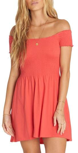 a5bdc79ef1b Billabong Off Beach Off the Shoulder Babydoll Dress