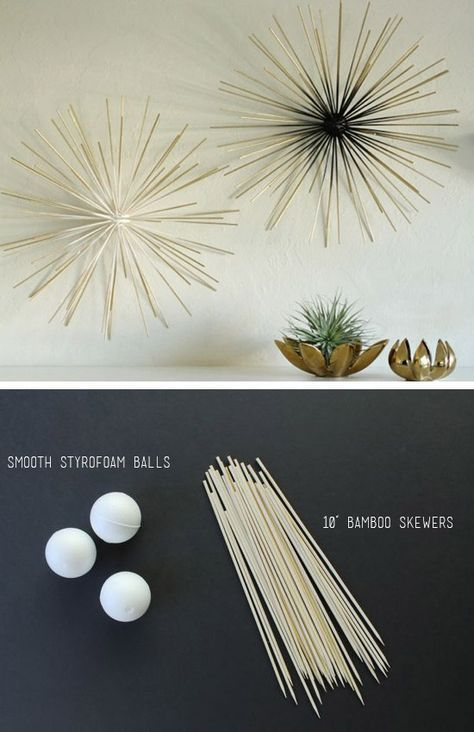 45 Smart Creative and Beautiful DIY Wall Art Ideas For Your Home - wanddeko selber basteln