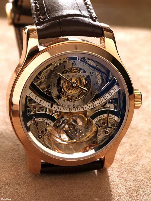 Horloge Jaeger Lecoultre | Jewelry Horloges man, Horloges