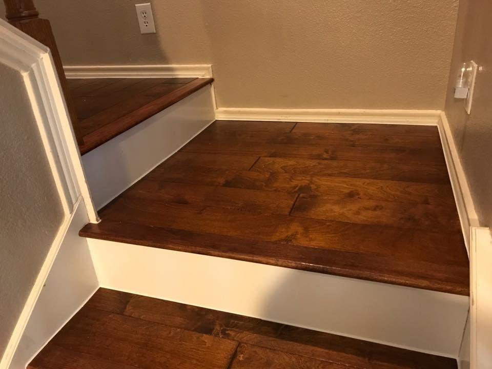 Best Hardwood Flooring On Stair Landing Stair Landing 400 x 300