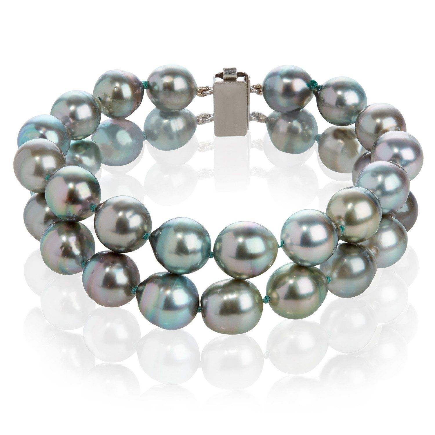 b627d6eb4 Tahitian Cultured Pearl Double Strand Bracelet from Coleman Douglas Pearls