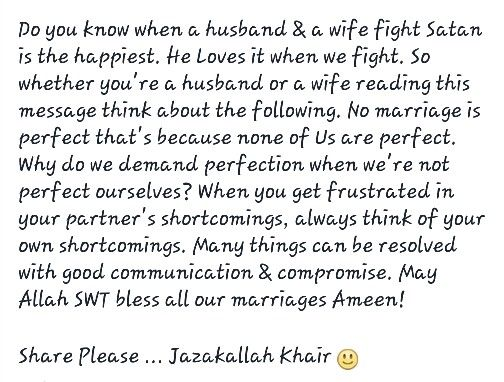 May allah bless our marriage