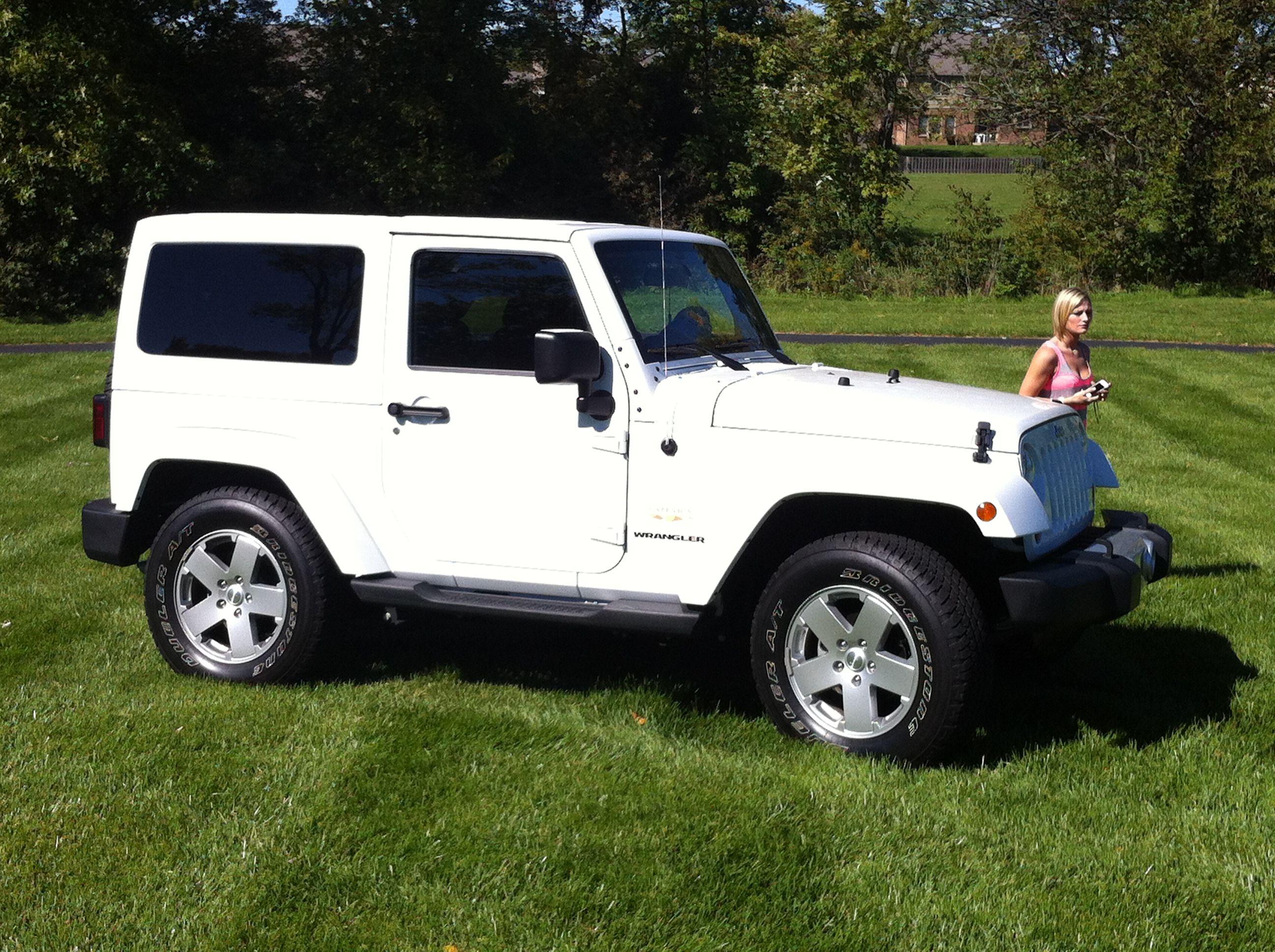 white jeep wrangler sahara. booley's new ride <3 | booley's board