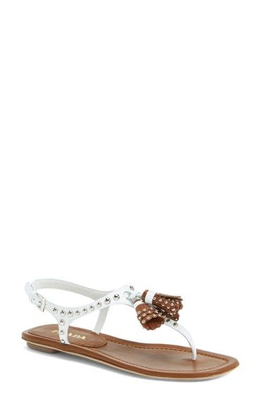 a6e51d1edf2 Prada Tasseled Sandal (Women) available at  Nordstrom.these are beyond  cute