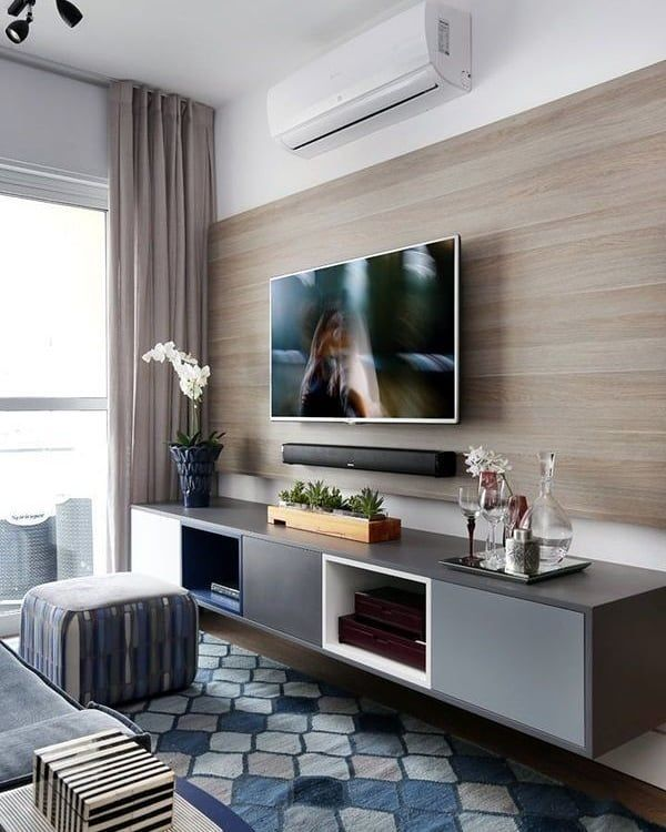 Imagine An Air Conditioner That Is In Perfect Sync With Your Interior Finishing Stay Cool And Be Cl Living Room Tv Modern Living Room Wall Living Room Tv Wall