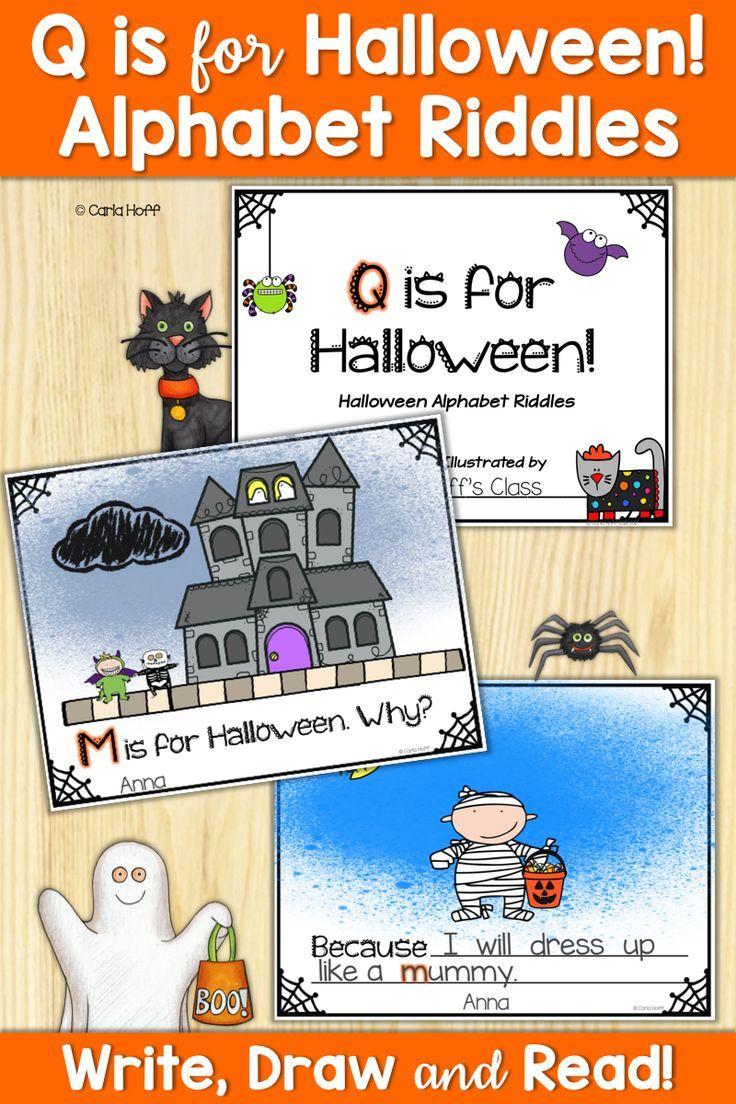 Halloween Class Writing Project Halloween riddles