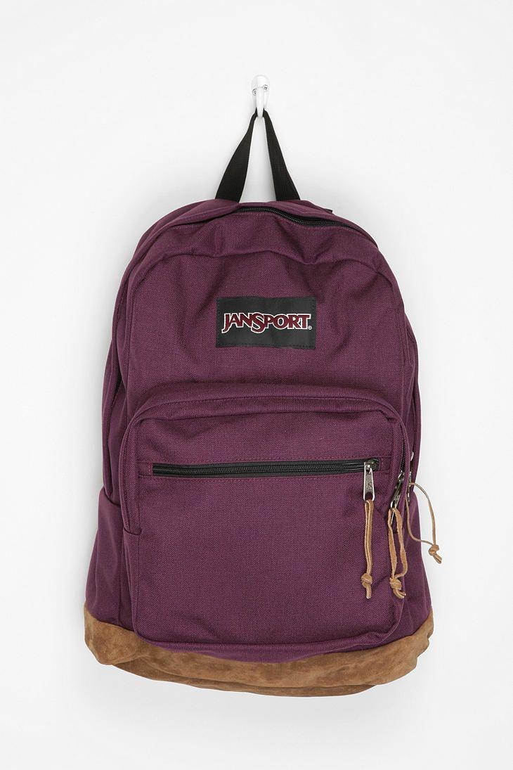 a2ed00aa34 classic purple jansport bookbag.