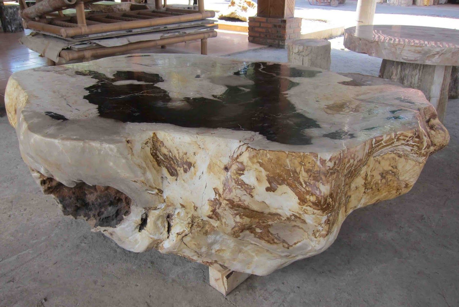 Petrified Wood Table Metal Wood Dining Table Petrified Wood Table Petrified Wood