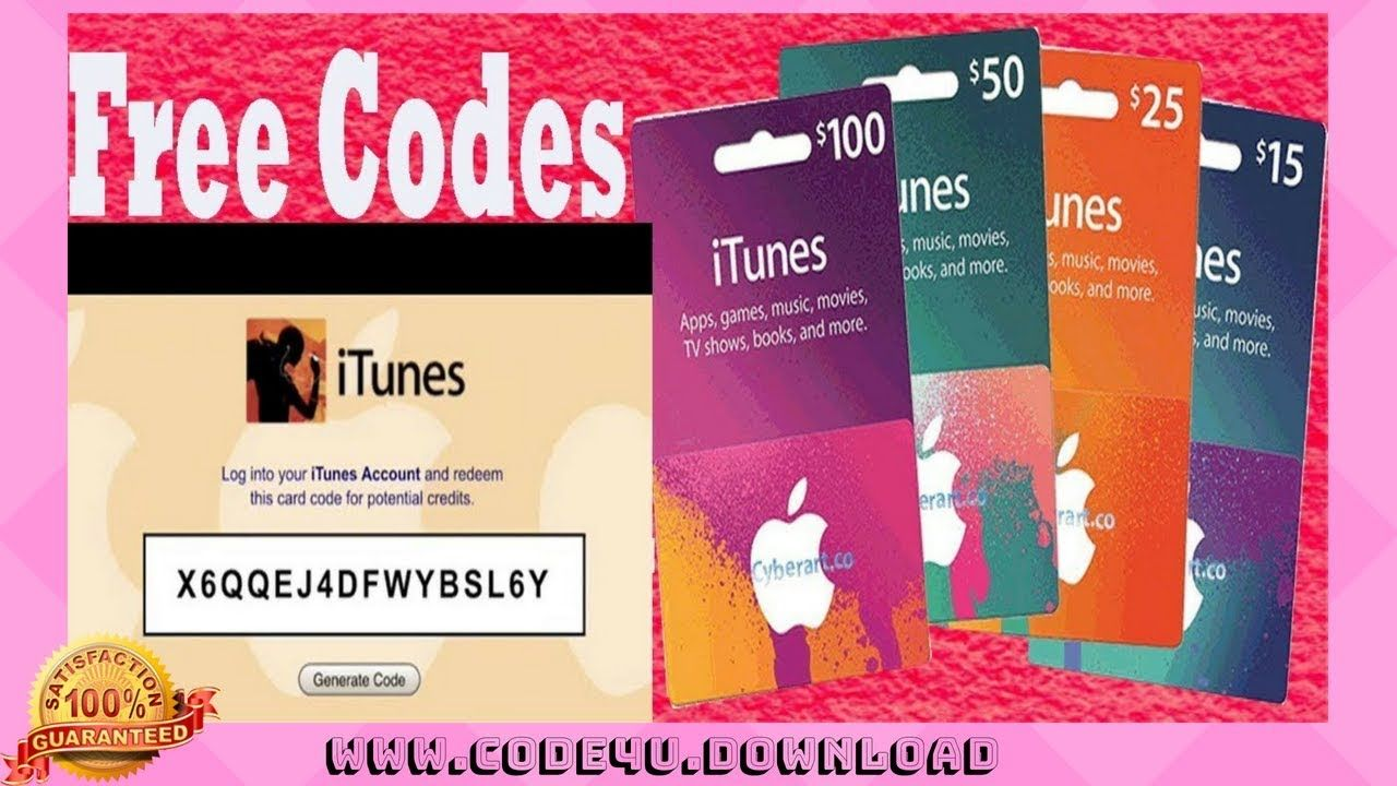 Free itunes gift cards || itunes codes || Promo coupon 2018