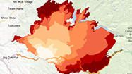 Interactive Map How The Rim Fire In Yosemite Grew Yosemite Interactive Map California History
